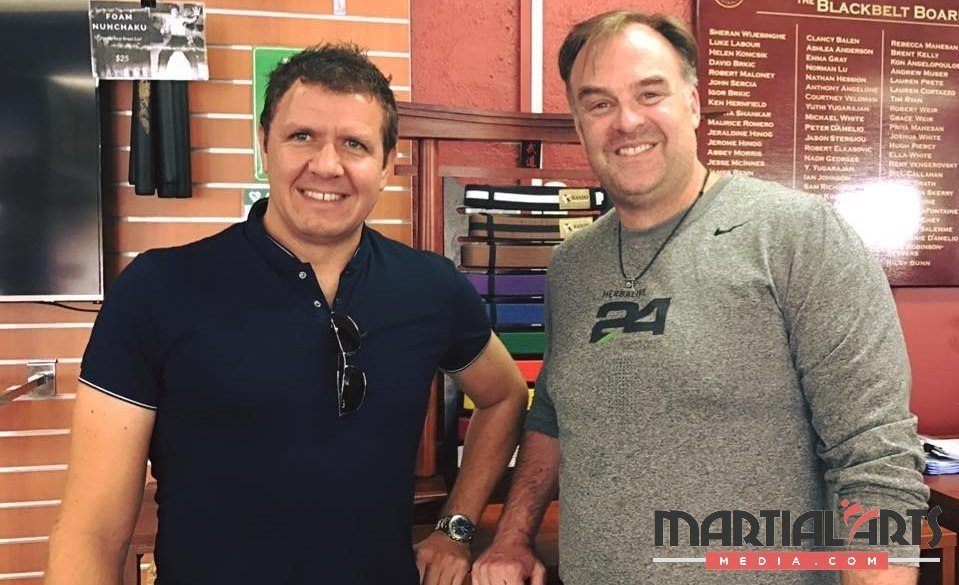 Martial Arts Paid Trials - George Fourie and Paul Veldman