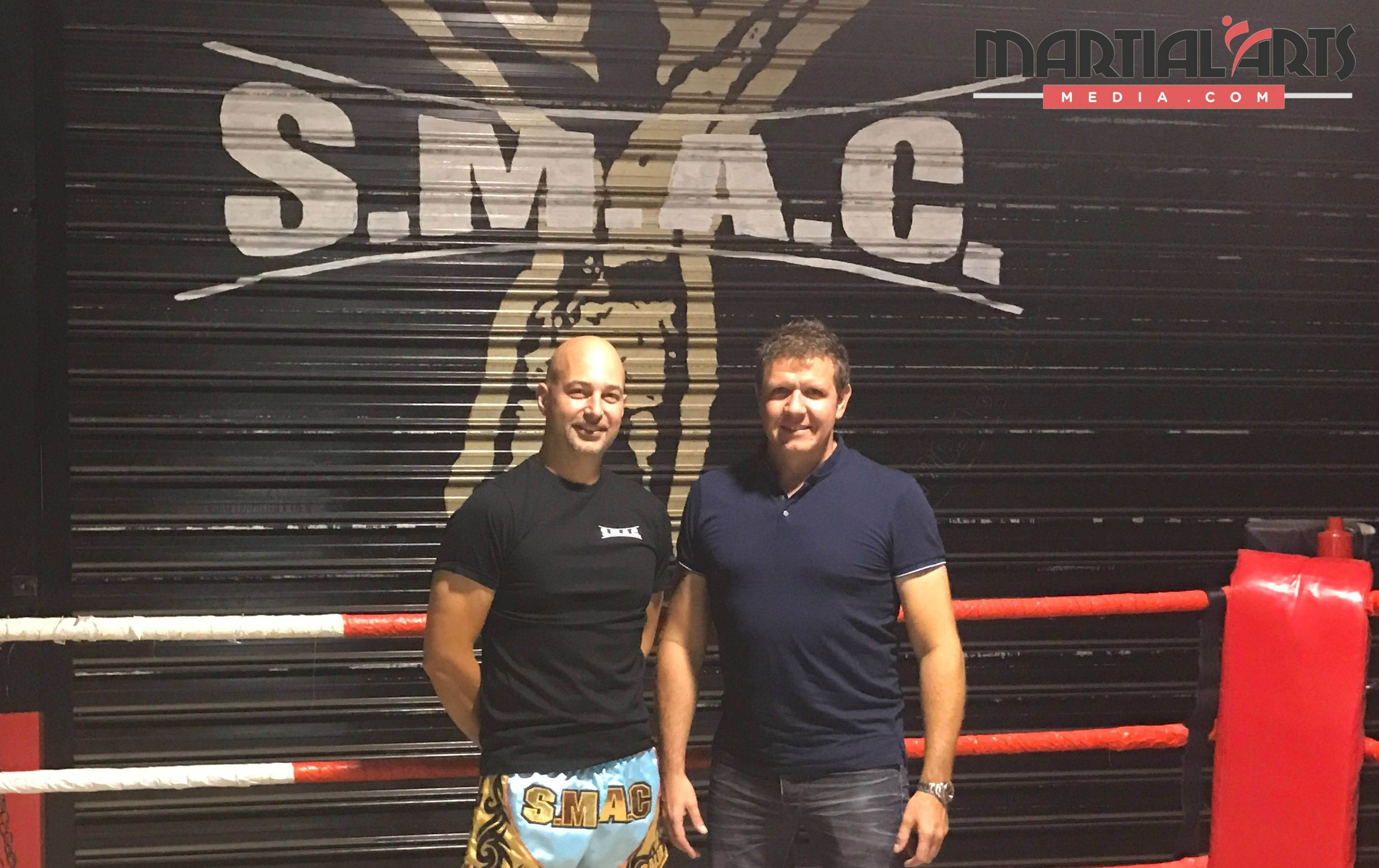 Matt Ball from SMAC with George Fourie